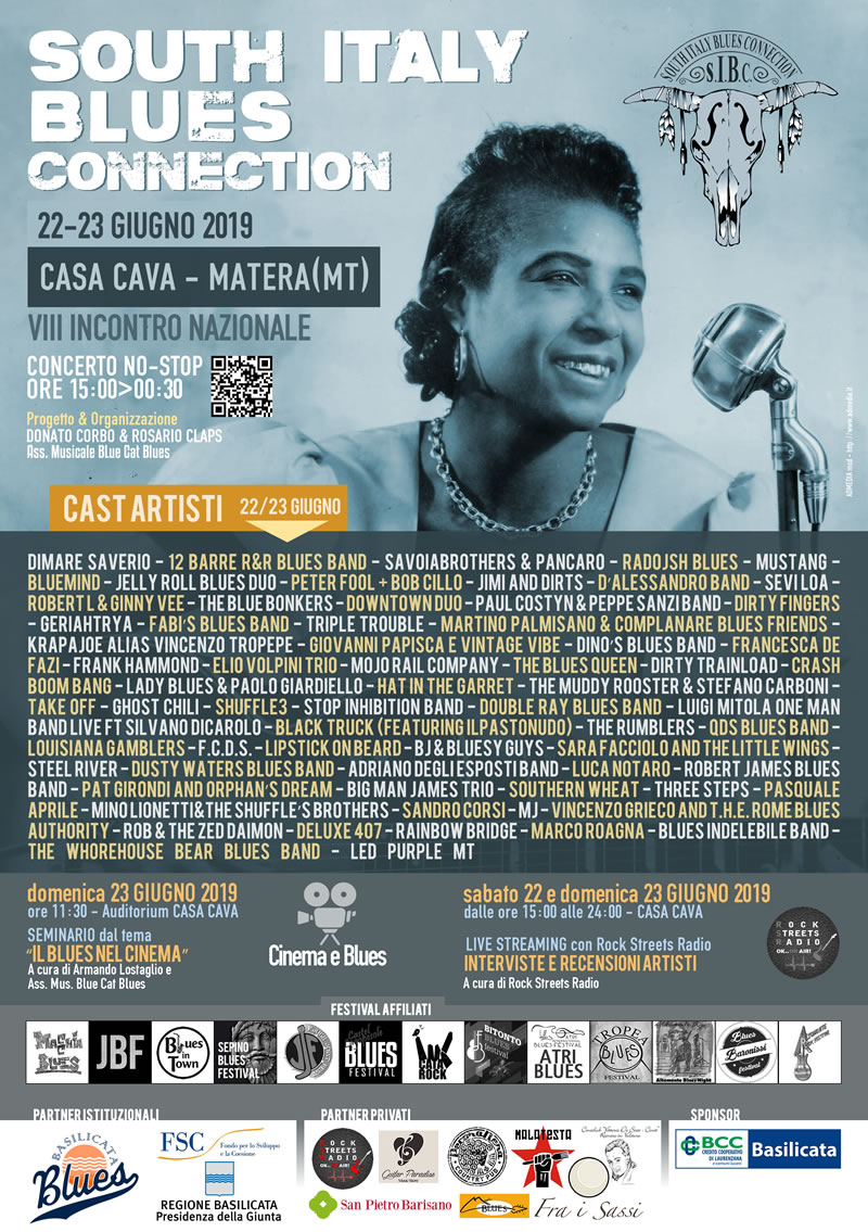 South Italy Blues Connection - 2019